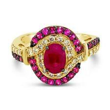 Le vian крем-брюле ® кольцо-страсть Рубин ™ ню бриллианты ® 14K мед золото ™