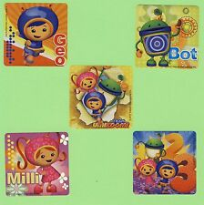 15 Team Umizoomi - Large Stickers - Party Favors - Rewards
