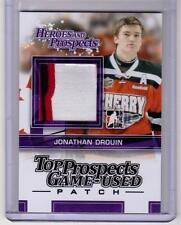 JONATHAN DROUIN 13/14 ITG H&P Game-Used Patch #TPM-04 SP 3-color 4-break
