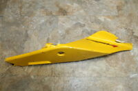 2013 APRILIA RSV4 R APRC ABS OEM Left TAIL FAIRING PLASTIC SEAT TRIM COWL DAMAGE