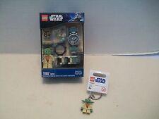 Lego #9002069 Star Wars Yoda Watch & Key Chain Bundle 1 NIB 2009-2011!