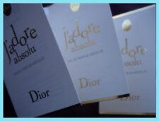 Dior JADORE ABSOLU 3 x 1ml EDP Eau de Parfum samples / vials (2018 release)