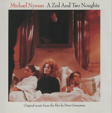 A Zed and Two Noughts by Michael Nyman (CD, 1990) Original Music from the Film