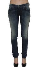 Diesel Damen Stretch Jeans GRUPEE 0838T Superslim Skinny blau Gr. 32/30 NEU