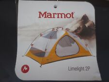 Marmot Limelight 2 Person Tent - Excellent - Unused - Tent, Fly and Ground Tarp