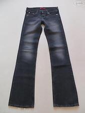 Levi 's ® 557 EVE square-cut Jeans pantalon w 27/L 36, Black Faded Denim extra long!
