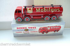 Atlas Dinky Supertoys Mk2 Foden Mobilgas Tanker - No.941 Mint/Boxed 1/43