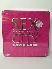 Sex and The City Trivia Game Pink Tin Brand New Original Wrap 2004 Age 18+