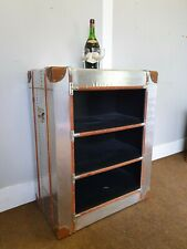 TIMOTHY OULTON STYLE AVIATOR INDUSTRIAL STYLE BOOKCASE/SHELVING RRP £340