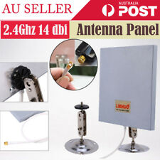 SMA Antenna Panel 2.4Ghz 14 dbi High Gain WiFi Wlan Extender Directional Range