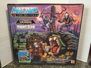 MOTU VINTAGE FRIGHT ZONE COMPLETE WITH BOX INSTRUCTIONS