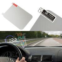 1X Car Universal Special HUD Head Up Display Reflective Film Sticker Accessories