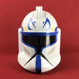 Star Wars Captain Rex Clone Trooper Talking Helmet with Mic Cosplay Customizing