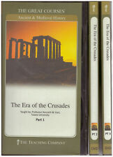 The Era of the Crusades, Parts 1-3 GREAT COURSES Complete set of 6 DVDs
