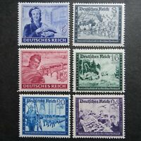 Germany Nazi 1944 Stamps MNH Woman Mail Carrier Field Post WWII Third Reich Germ