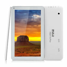 """iRULU 10.1"""" Google Android 6.0 Tablet PC A33 Quad Core 8GB 1024*600 WiFi White"""