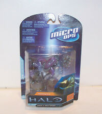 Halo Micro Ops - Ghost Vs. Wolf Spider w/ Emile (in box).