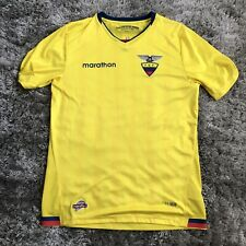 Marathon Ecuador National Team Yellow Soccer Fit Jersey Size M Men