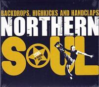 NORTHERN SOUL - BACKDROPS, HIGHKICKS & HANDCLAPS - VARIOUS ARTISTS (NEW 2CD)