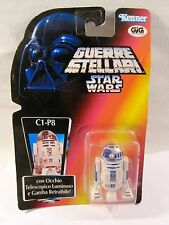 "GIG KENNER 1995 ""STAR WARS-GUERRE STELLARI"" C1-P8 / R2-D2  FONDO DI MAGAZZINO"