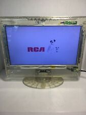"""13"""" Clear LED HDTV flat screen RCA works great prison No Remote"""