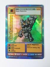 Digimon Card Gostumon ST-23S Holo Starter Set 1