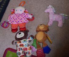 Mixed lot of baby toddler toys bear girl doll sensory items horse cute set