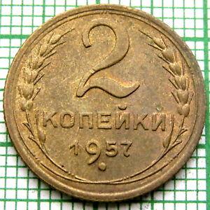 RUSSIA USSR 1957 2 KOPEKS TOP GRADE UNC