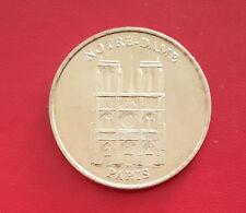 Monnaie de Paris - Notre dame de Paris 2001 75004 Jeton Mdp Touristique France