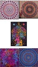5 PCS  PSYCHEDELIC INDIAN STAR MANDALA Tapestry Wall Hanging Wholesale Job Lots