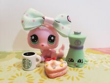 LITTLEST PET SHOP AUTHENTIC #  2575 RARE PINK BABY KITTY CAT