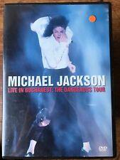 MICHAEL JACKSON - LIVE IN BUCHAREST - THE DANGEROUS TOUR ~ UK DVD Set