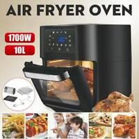 1700W 10L Electric Air Fryer OvenIntelligent Oil-free Multi-function Fry Machine