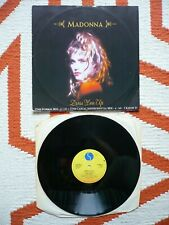 "Madonna Dress You Up (The 12"" Formal Mix) 12"" Vinyl UK 1985 Sire 3 Track Single"