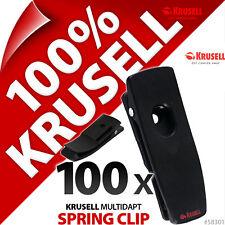100 x Krusell Multidapt SpringClip Spring Belt Clip Kit For Classic/Orbit Cases