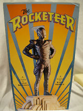 THE ROCKETEER Faux BRONZE STATUE By KENT MELTON & Randy BOWEN 1999 bust Figurine