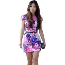 Women's H&M Fashion Star pink floral dress! Size 4 or XS