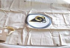 Los Angeles Rams Football POTTERY BARN PB Teen NFL Pillow Sham Patch Stone New