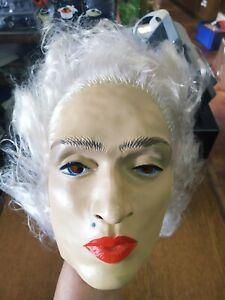"""Masque Souple et Complet """" Cesar """" de Madonna pour Adulte en Latex - Collection"""