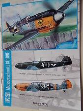 Bf-109E, Bf-109G, P-51D/K, Ju-87B/R, He-162,Fw-190A,Fokker Dr.I BORA-PRESS books