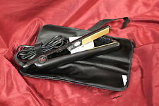 "CHI Air CA1010 Classic Tourmaline Ceramic 1"" Hairstyling Iron, Onyx Black #U2"