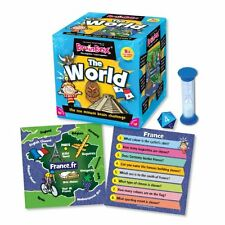 BrainBox - The World board game the ten minute brain challenge for 1+ players