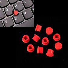 10pcs Rubber Mouse Pointer TrackPoint Red Cap for IBM Thinkpad Laptop CG