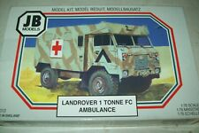 JB  F.C. LANDROVER 1 TON AMBULANCE   1:76 scale  kit