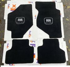 For 1988-91 Honda Civic 3Dr Wagon Hatchback Floor mats carpet black Honda of USA