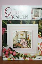 PAULA VAUGHAN'S  QUILTS FROM GARDEN BOOK 12 CROSS STITCH DESIGN PATTERNS NEW OOP