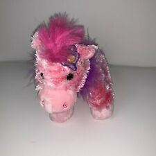 Animal Alley Pink Horse Flower Bow Plush Stuffed Animal Toys R Us