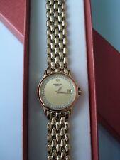 Raymond Weil 18ct Gold Plated Ladies Watch with diamonds Chorus 5368  Working