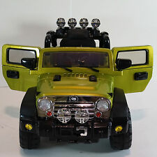 JEEP WRANGLER STYLE RIDE ON CAR W REMOTE CONTROL 12V BATTERY rideONEcar.