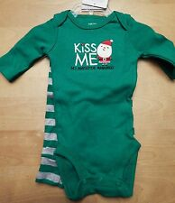 Carter's Just One You Kiss Me Christmas Outfit Newborn